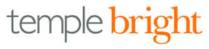 Temple Bright LLP Logo on a white background with grey and orange text